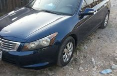 Neatly Used Nigerian Used Honda Accord 2008 Blue Colour
