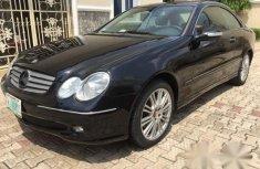 Mercedes-Benz CLK320 2005 Black for sale