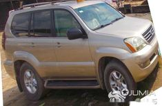 Used lexus jeep g470 2004 Gold For Sale