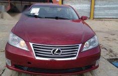 Lexus Es 2011 Red for sale