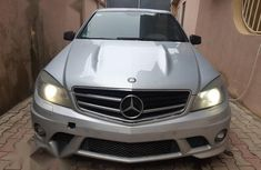 Mercedes-Benz C63 2010 Silver for sale