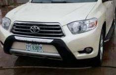 Neat Registered Toyota Highlander 2010 Forsale -