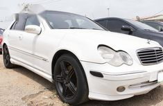Mercedes-Benz C320 2005 White for sale