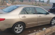 Honda Accord 2005 Sedan EX Automatic Gold for sale