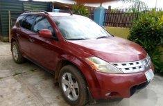 Nissan Murano 2003 Red