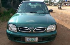 Nissan Micra 2000 Green for sale