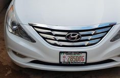 Hyundai Sonata 2012 White for sale