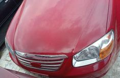 Kia Spectra 2008 Petrol Automatic Red for sale