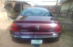 Clean Peugeot 407 2005 Purple for sale