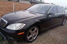 Mercedes-Benz S550 2007 Black for sale
