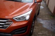 Hyundai Santa Fe 2015 Orange for sale