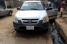 Honda CR-V 2002 2.0i ES Automatic Silver for sale