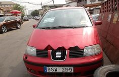 Almost brand new Volkswagen Sharan 2001 for sale