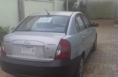 Hyundai Accent 2008 1.6 Silver for sale