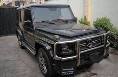 Customized Mercedes-benz G63 2015 Black for sale