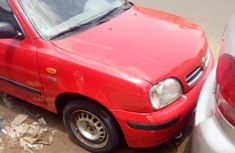Nissan Micra 2003 Red for sale