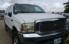 Ford Excursion XLT 2002 White for sale