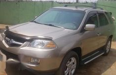 Acura MDX Sport Utility 2004 Gold for sale