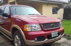 Ford Explorer 2003 Sport Track Automatic Red for sale