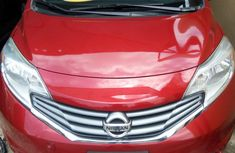Nissan Versa Note 2015 Red for sale