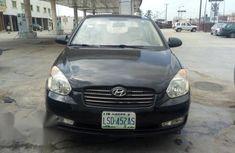 Hyundai Accent 1.6 2008 Black for sale