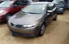 Kia Forte EX 2.0L Fwd 2013 Gray for sale