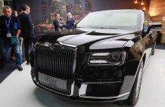 Senat L700, Vladimir Putin's 7-Ton Limo Makes Debut At Geneva Motor Show
