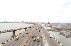 As Nigeria Decides: See photos of 3rd Mainland Bridge on an election day!