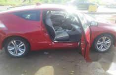Tokunbo Honda CR-Z 2011 Red for sale