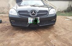 Mercedes Benz SLK 350 2006 Black for  sale