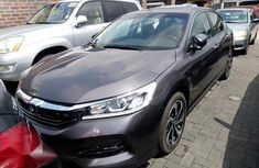 Clean Honda Accord 2016 Gray for sale