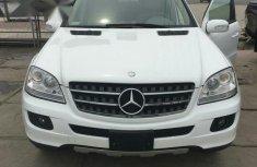 Mercedes-Benz ML 350 2007 White For Sale