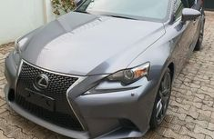 Lexus IS 2015 Gray for sale