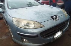 Clean Peugeot 407 2007 Blue for sale