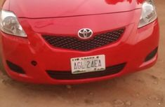 Toyota Yaris 2010 Red for sale