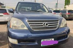 2007 LEXUS GX470 BLUE for sale