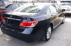 Foreign Used 2010 Lexus ES350 Black for sale