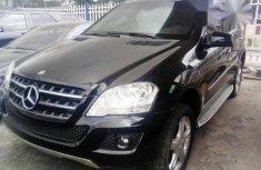 Mercedez Benz ML500 2015 Black for sale
