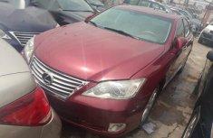 Lexus ES 2010 Red for sale
