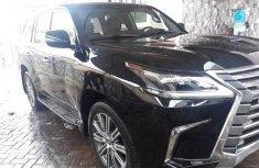 Lexus LX 570 2017 Black for sale