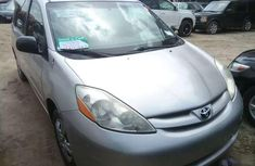 2007 Toyota Sienna Silver for sale