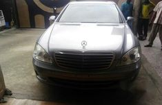 Mercedes-Benz S Class S550 2010 Silver for sale