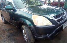 Clean Honda CR-V 2004 Green for sale