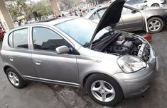 Toyota Yaris 2004 Gray for sale