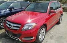 Mercedes-Benz GLK-Class 2015 Red for sale