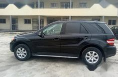 Very Clean Mercedes Benz ML 350 2008 Black for sale