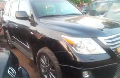 Clean Lexus LX570 2012 Black for sale