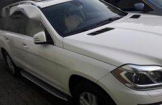 Clean Mercedez Benz GL450 2014 White for sale
