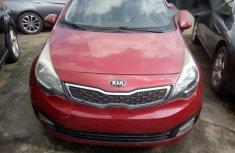 Kia Rio 2014 Red for sale