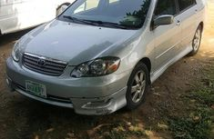 Toyota Corolla 2006 S Silver for sale